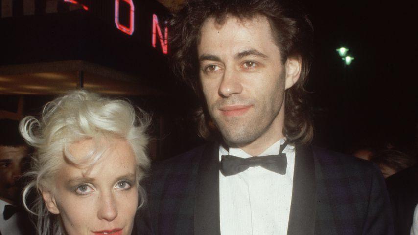 Paula Yates und Bob Geldof im Jahr 1985
