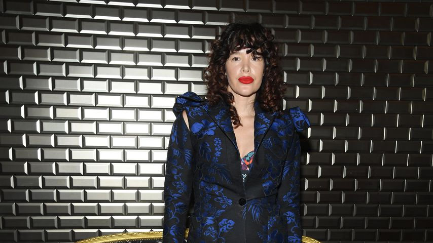 Paz de la Huerta bei der Fashion Week 2018