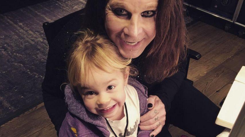 Ozzy Osbourne und Pearl Clementine Osbourne
