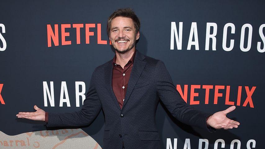 """Pedro Pascal auf der """"Narcos""""-Premiere zu Staffel drei"""