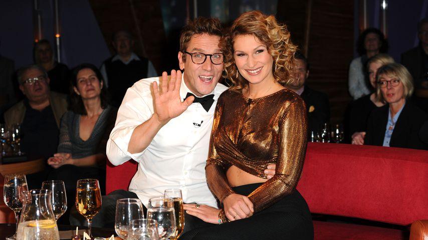 Peer Kusmagk und seine Freundin Janni Hönscheid 2016 in Hamburg