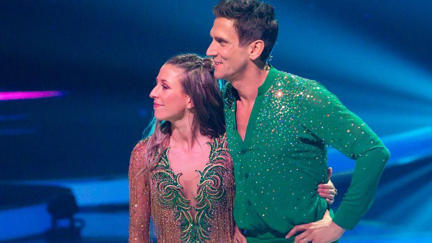 "Peer Kusmagk und Kat Rybkowski bei ""Dancing on Ice"" 2019"