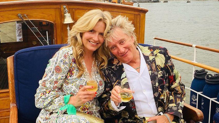 Rod Stewart und Penny Lancaster feiern den 14. Hochzeitstag
