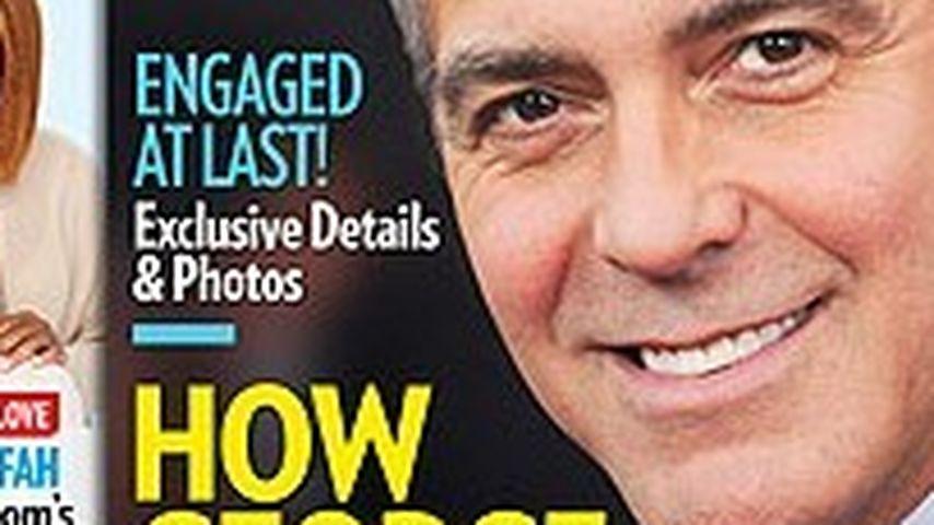 Imposant: DIESEN Ring schenkte George Clooney Amal