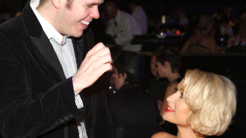 Perez Hilton und Paris Hilton im April 2009
