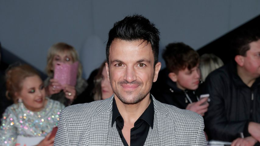 Peter Andre beim National Television Award 2018