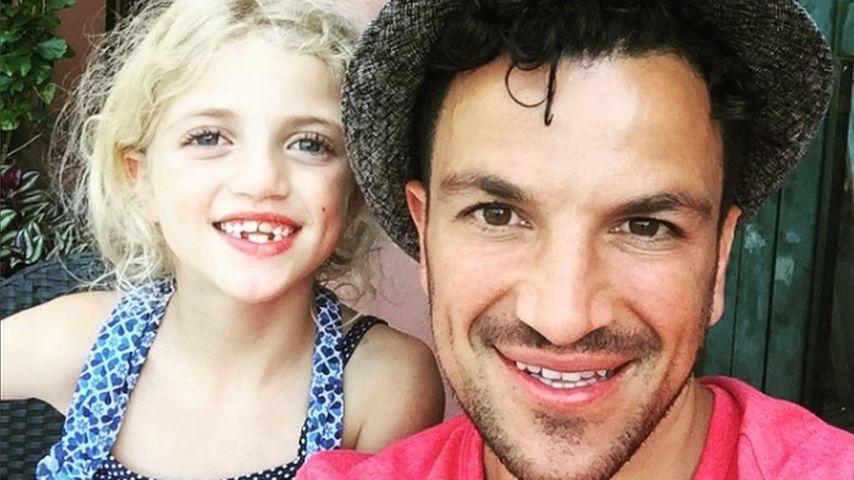 Peter Andre mit seiner Tochter Princess Tiaamii