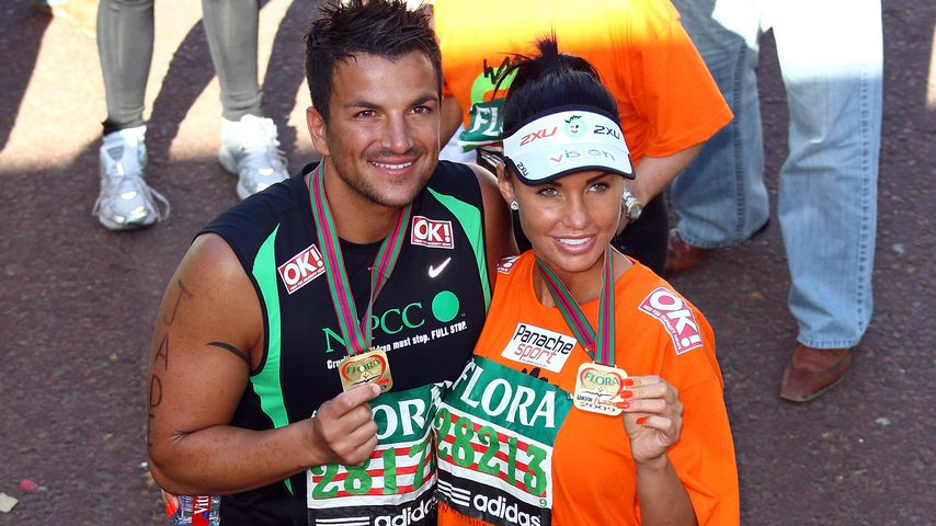 Peter Andre und Katie Price im April 2009