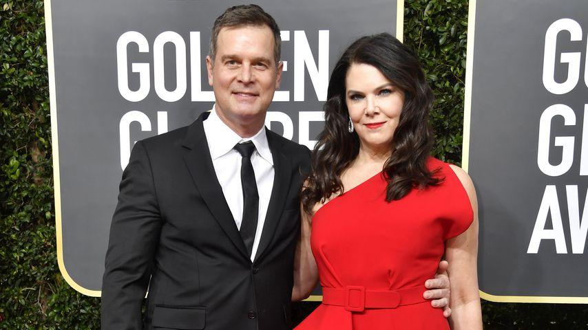 Peter Krause und Lauren Graham bei den Golden Globes 2020