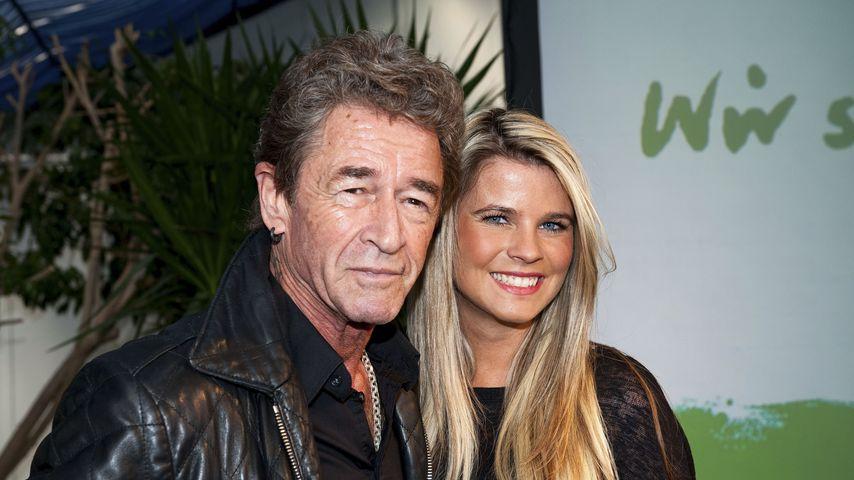 Peter Maffay mit seiner Freundin Hendrikje Balsmeyer