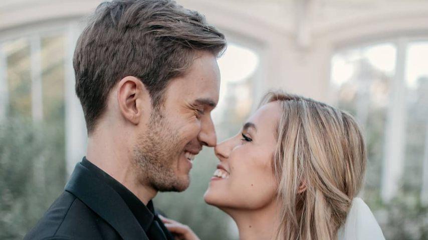 PewDiePie und Marzia Bisognin am Tag ihrer Hochzeit