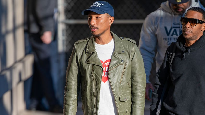 Musiker Pharrell Williams im Januar 2020