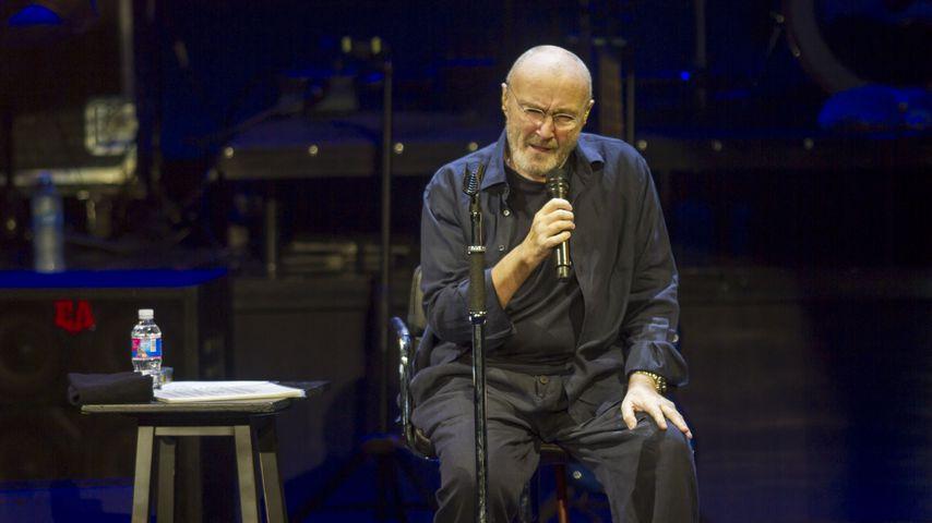 Abschiedstour gestartet: Phil Collins muss im Sitzen singen