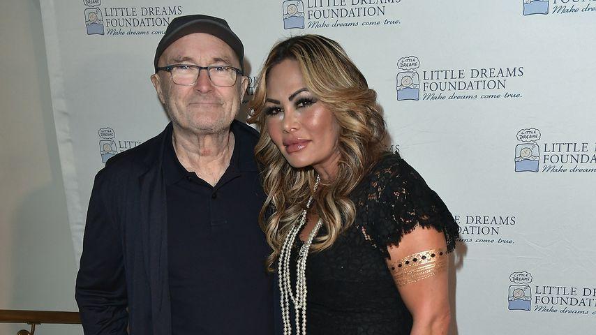 Phil Collins und Orianne Cevey, 2017