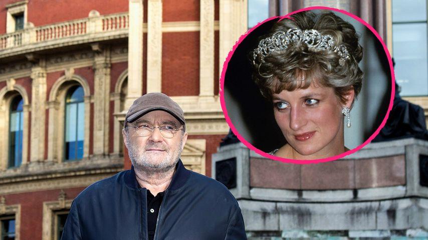 Lady Dianas geheime Affäre: Phil Collins wusste Bescheid!