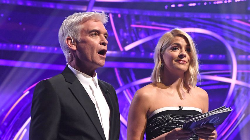 "Phillip Schofield und Holly Willoughby, ""Dancing on Ice""-Moderatoren"
