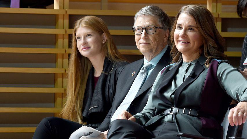 Phoebe Gates und ihre Eltern Microsoft-Gründer Bill Gates mit Ehefrau Melinda
