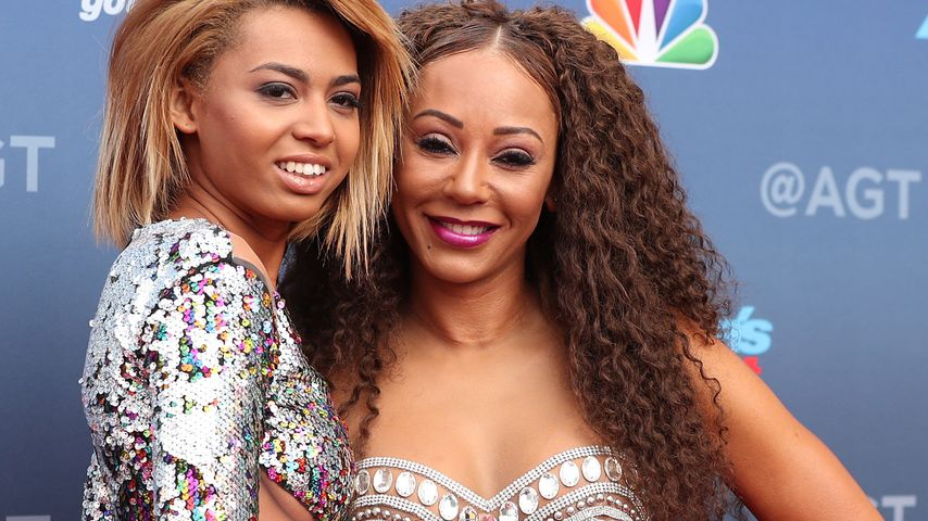 "Phoenix Chi Gulzar und Mutter Mel B. beim Start der 13. ""America's Got Talent""-Staffel"