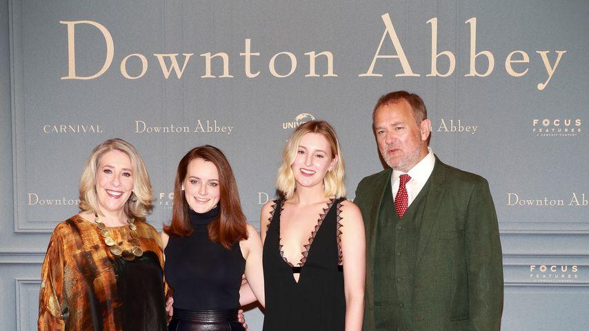 """Pannen am Film-Set? """"Downton Abbey""""-Cast in Plauderlaune!"""