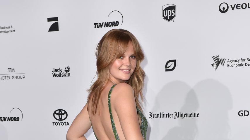 Pia Riegel bei den Green Tec Awards 2018