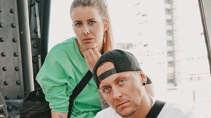 Pia Tillmann und Danny Liedtke im Juni 2020