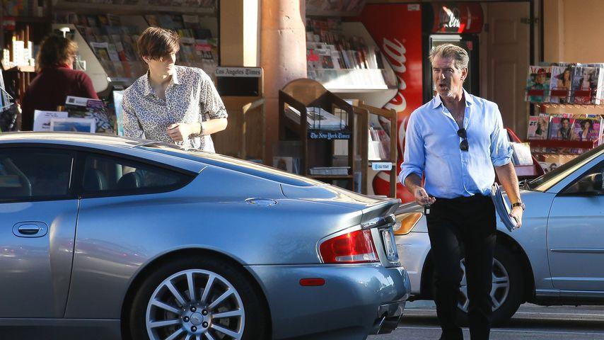 Pierce Brosnan und Dylan Brosnan