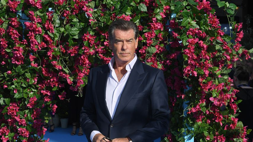 """Mamma Mia""-Star Pierce Brosnan, 2018"