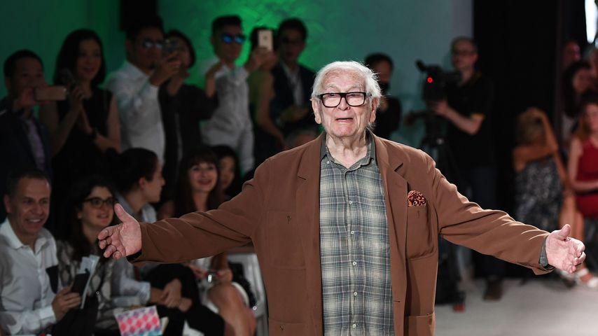 Pierre Cardin, französischer Modeschöpfer