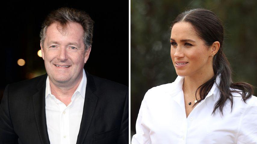 """""""Verbaler Boxkampf"""": Wehrt sich Meghan gegen Piers Morgan?"""