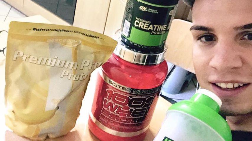 Mit Protein-Pulver: Pietro Lombardi will endlich Mega-Muckis