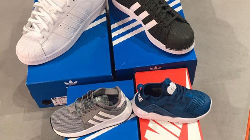 Pietro Lombardis neue Schuhe für sich und Alessio