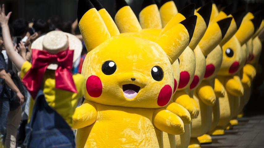 Pikachu in Japan