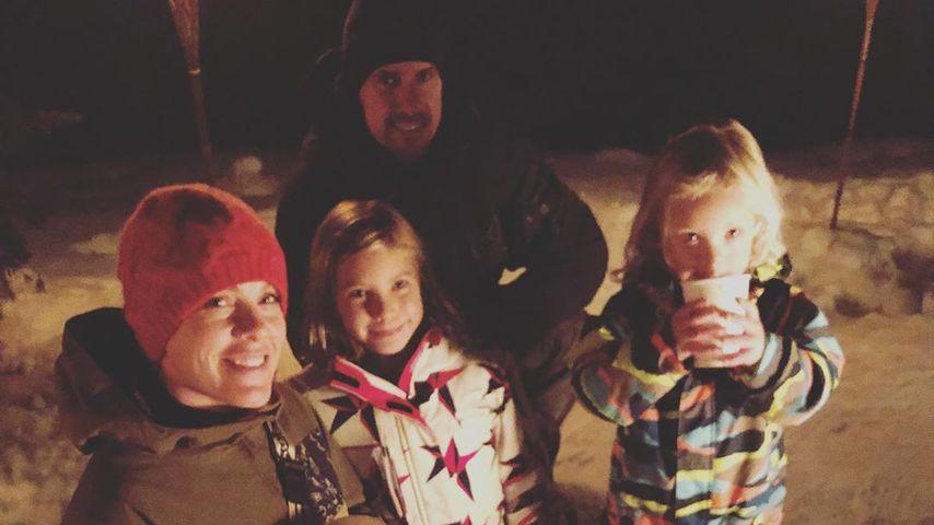 Pink, Carey Hart und ihre Kinder Willow und Jameson