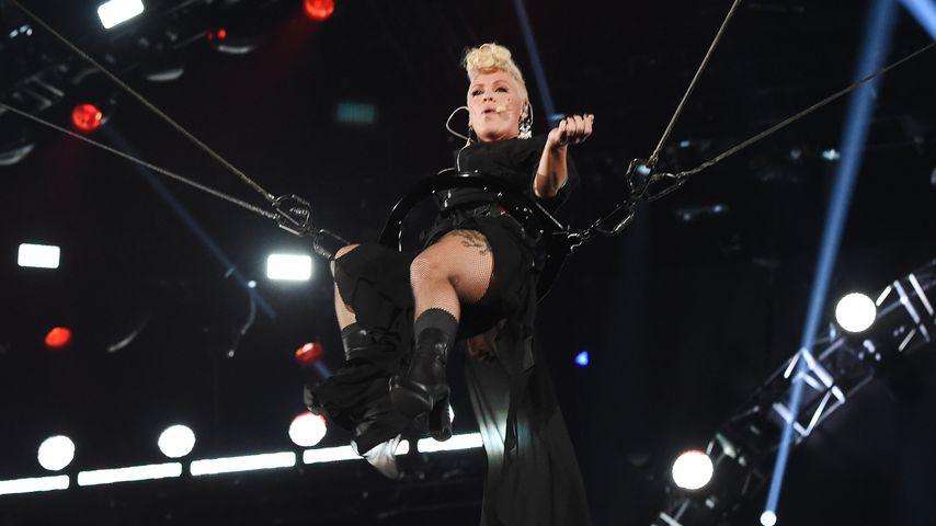 Pink beim iHeartRadio Music Festival in Las Vegas