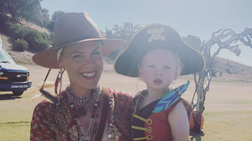 Kleiner Pirat: So groß ist Pinks Sohnemann Jameson schon!