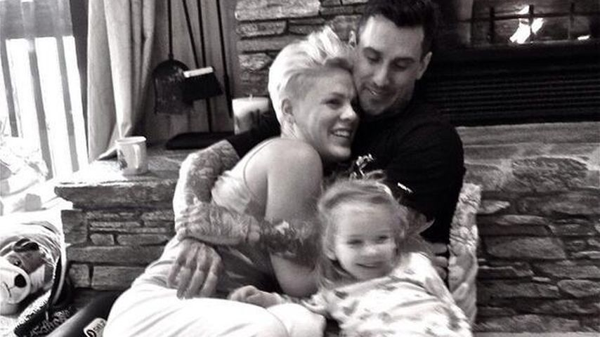 Pink, Carey Hart und Willow Hart