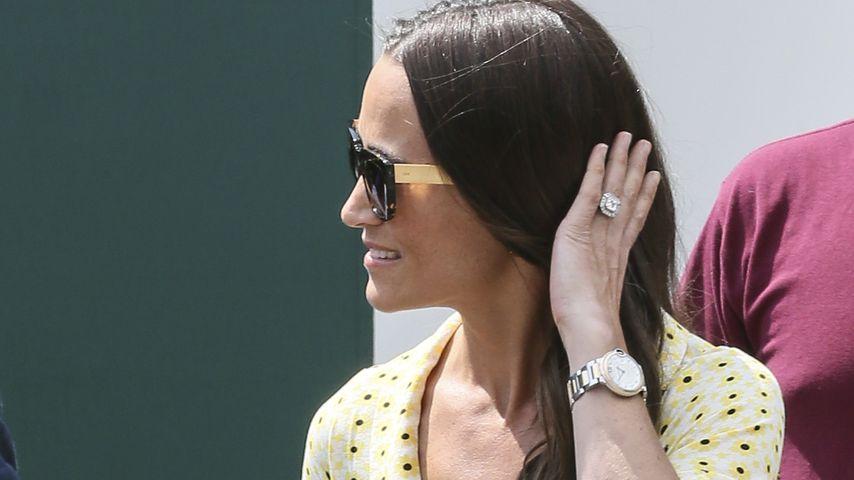 Pippa Middleton im Juli 2019 in Wimbledon