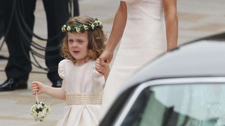 Pippa Middleton mit Grace van Cutsem bei der Hochzeit von Prinz William und Herzogin Kate