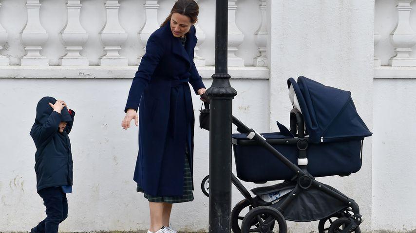 Pippa Middleton mit ihren beiden Kids