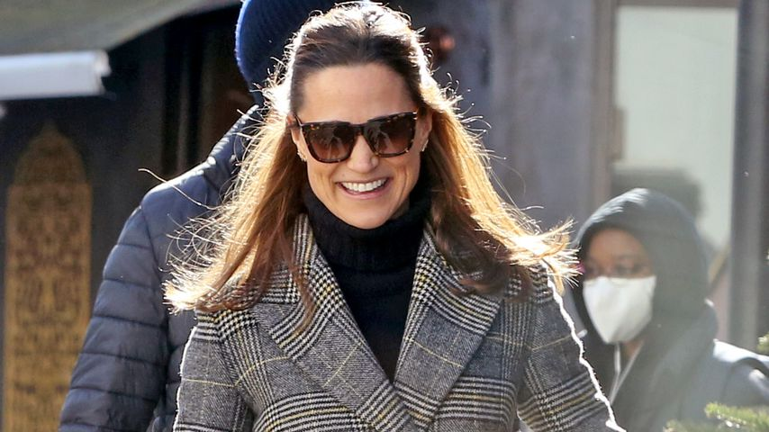 Pippa Middleton in London im Februar 2021