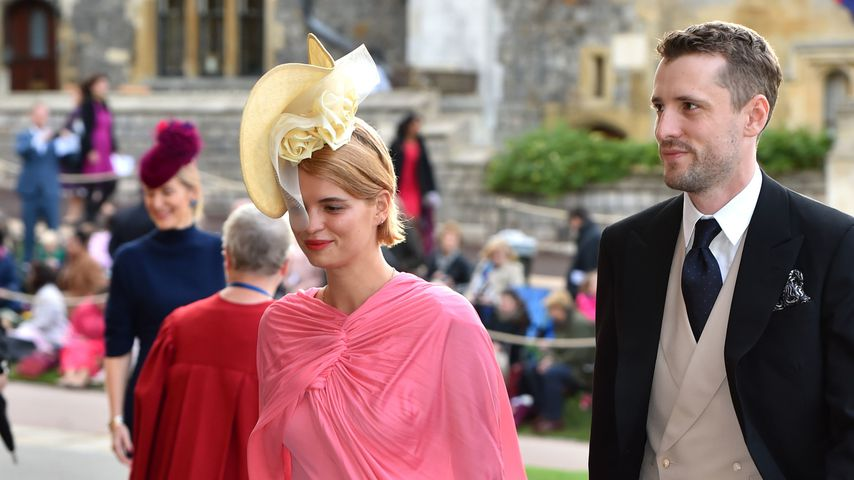 Pixie Geldof und ihr Mann George bei Prinzessin Eugenies Hochzeit