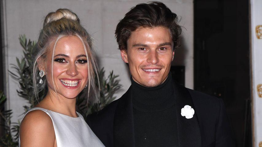 Pixie Lott und Oliver Cheshire bei den British Academy Film Awards, 2020