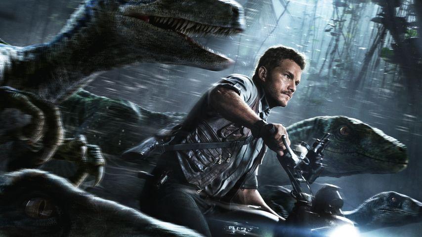 """Chris Pratt 2015 in """"Jurassic World"""""""