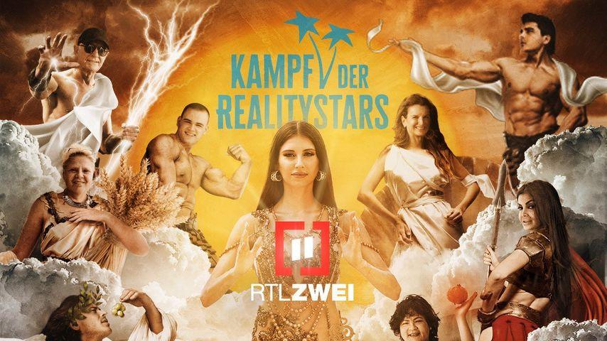 """Plakat zu """"Kampf der Realitystars"""" Staffel zwei"""
