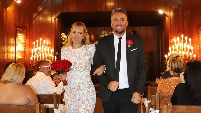 Las-Vegas-Hochzeit: Playmate Doreen Seidel hat geheiratet!