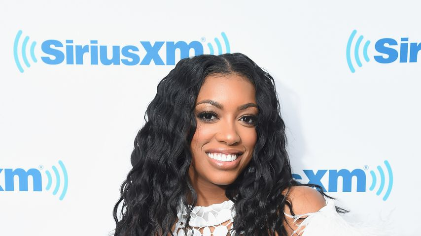Porsha Williams in den SiriusXm Studios im Januar 2017