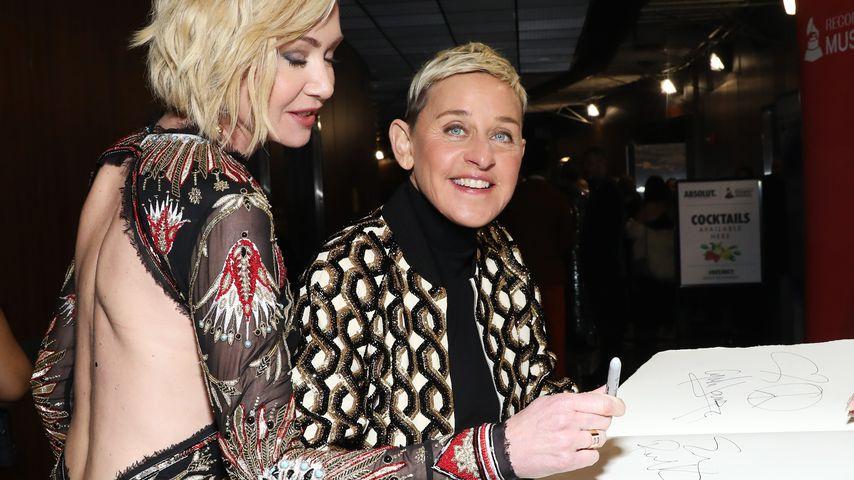 Portia de Rossi und Ellen DeGeneres bei den Grammy Awards 2020
