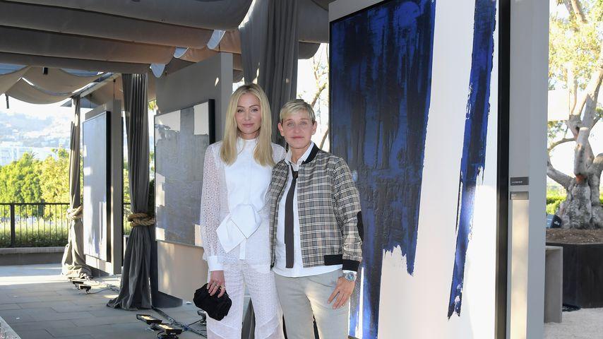 Portia de Rossi und Ellen DeGeneres in Los Angeles
