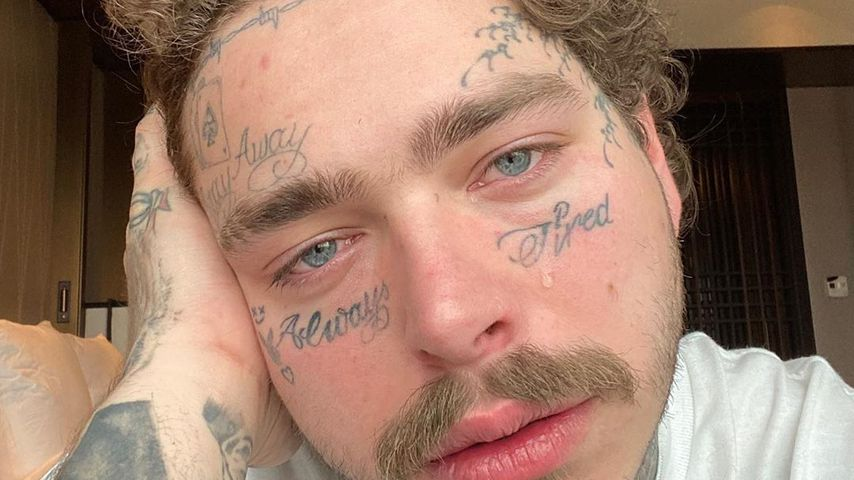 Grund für Gesichtstattoos: Post Malone findet sich hässlich