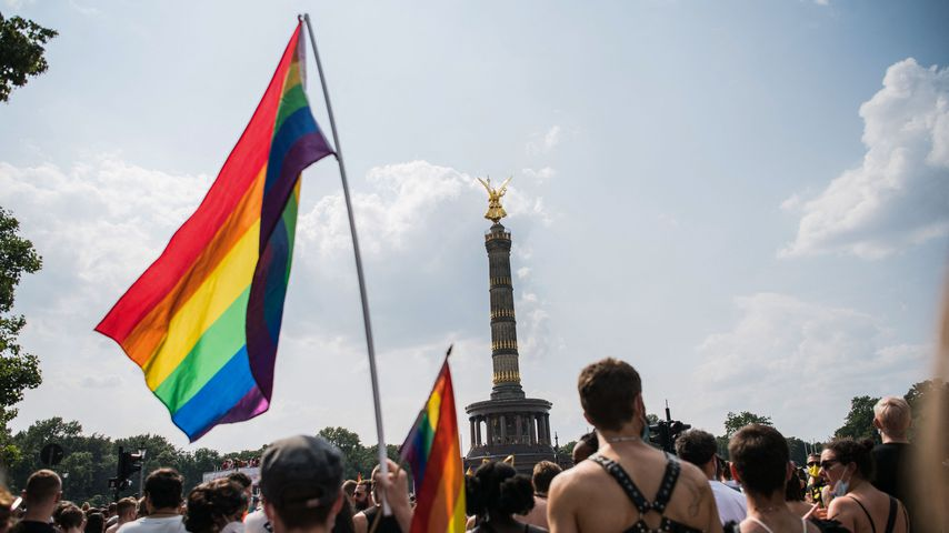Pride-Umzug in Berlin, Juli 2021